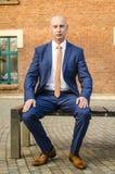 Ritratto di giovane uomo di affari Fotografia Stock