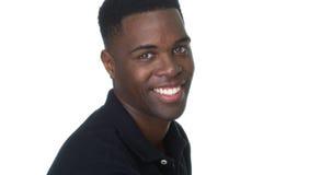 Ritratto di giovane uomo di colore bello immagini stock
