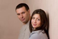 Ritratto di giovani coppie. Immagini Stock
