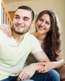 Ritratto di giovani coppie adulte Fotografia Stock