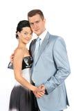 Ritratto di giovani coppie amorose felici Fotografia Stock
