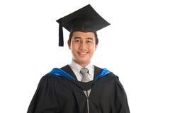 Ritratto di graduazione dello studente universitario Fotografie Stock