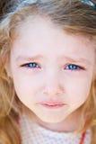 Ritratto di gridare della bambina Fotografia Stock