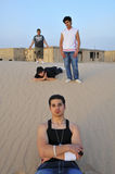 Ritratto di Hip Hop nel Kuwait Fotografia Stock Libera da Diritti