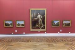Ritratto di Ludvig I della Baviera in Alte Pinakothek a Monaco di Baviera Fotografia Stock