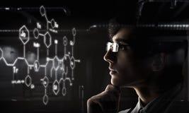 Ritratto di medico bello Fotografia Stock