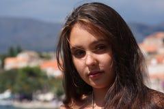 Ritratto di modello dell'adolescente Fotografia Stock Libera da Diritti