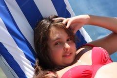 Ritratto di modello dell'adolescente Fotografie Stock