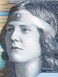 Ritratto di Nan Shepherd immagini stock libere da diritti