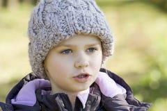Ritratto di piccola ragazza Fotografie Stock