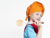 Ritratto di piccolo cuoco Immagini Stock