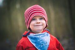 Ritratto di piccolo ragazzo caucasico felice Fotografia Stock Libera da Diritti