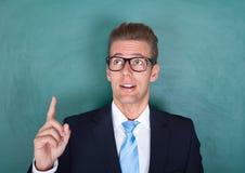 Ritratto di professore maschio premuroso Fotografia Stock Libera da Diritti
