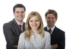 Ritratto di riuscita squadra di affari Immagini Stock Libere da Diritti
