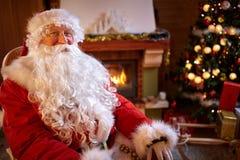Ritratto di Santa Claus reale Immagine Stock Libera da Diritti