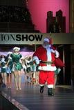 Ritratto di Santa Girls e di Santa felici Fotografia Stock
