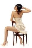 Ritratto di seduta Fotografie Stock