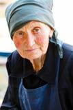 Ritratto di signora anziana immagini stock libere da diritti