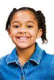 Ritratto di sorridere della ragazza Fotografia Stock