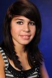 Ritratto di teenager ispanico Fotografie Stock Libere da Diritti