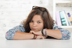 Ritratto di un adolescente Fotografia Stock Libera da Diritti