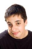 Ritratto di un adolescente bello del pakistan Fotografie Stock Libere da Diritti