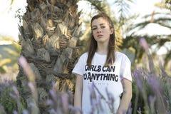 Ritratto di un adolescente di 15 anni Fotografia Stock Libera da Diritti