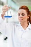 Ritratto di un allievo di scienza Immagine Stock Libera da Diritti