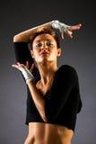 Ritratto di un ballerino Fotografia Stock Libera da Diritti