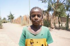 Ritratto di un bambino etiopico Immagine Stock Libera da Diritti