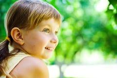 Ritratto di un bambino felice Fotografie Stock Libere da Diritti
