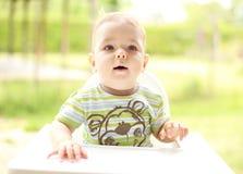 Ritratto di un bambino sveglio Fotografie Stock