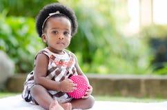 Ritratto di un bambino sveglio Fotografia Stock Libera da Diritti