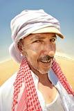 Ritratto di un beduino fotografia stock