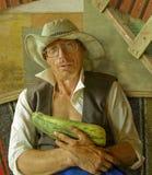 Ritratto di un coltivatore fotografia stock