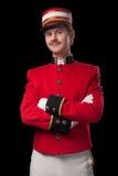 Ritratto di un concierge (portatore) Fotografie Stock Libere da Diritti