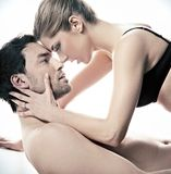 Ritratto di un felice sposato Fotografie Stock Libere da Diritti