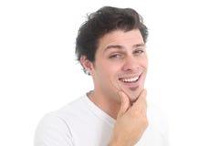 Ritratto di un giovane sorridente Immagine Stock Libera da Diritti