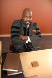 Ritratto di un giudice fotografia stock libera da diritti