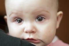 Ritratto di un gridare sveglio della bambina Fotografia Stock Libera da Diritti