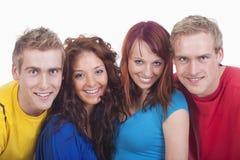 Ritratto di un gruppo di giovani Immagine Stock