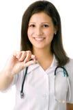 Ritratto di un medico Fotografie Stock
