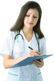 Ritratto di un medico Immagini Stock