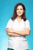 Ritratto di un medico fotografia stock