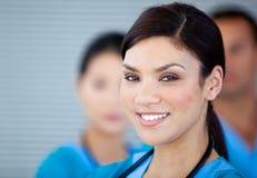 Ritratto di un medico femminile fotografia stock libera da diritti