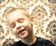 Ritratto di un ragazzino Fotografie Stock