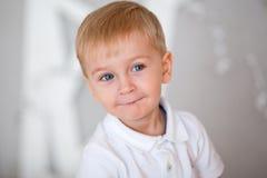 Ritratto di un ragazzino Fotografia Stock Libera da Diritti