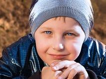 Ritratto di un ragazzo Fotografia Stock Libera da Diritti