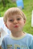 Ritratto di un ragazzo Fotografia Stock