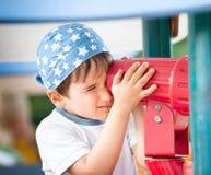 Ritratto di un ragazzo di anni 3-4 Immagini Stock Libere da Diritti